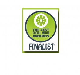 Zest Social Media Awards Finalist